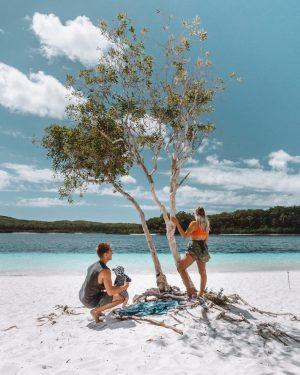 Lake McKenzie - Fraser Island