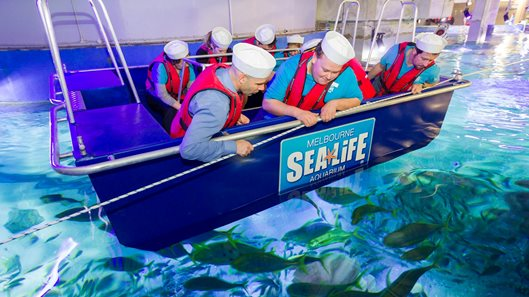 Glass Bottom Boat (Image by SEA LIFE)