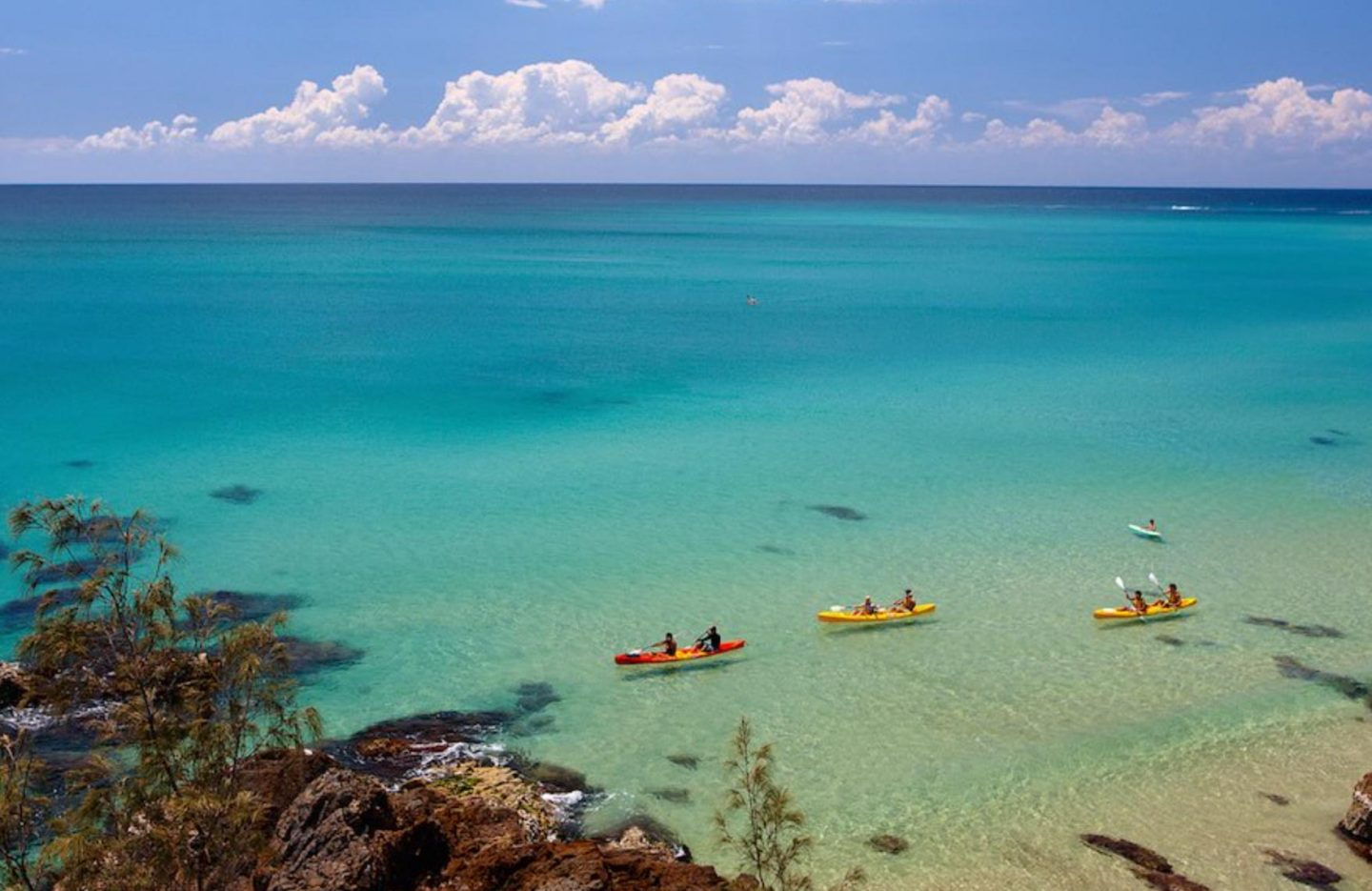 Belongil Beach Kayak - Live Life and Roam