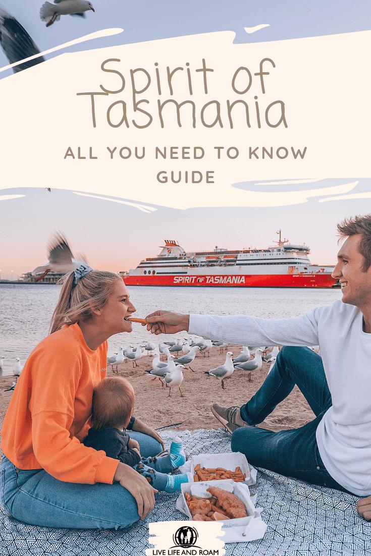 Spirit of Tasmania Pin Live Life and Roam