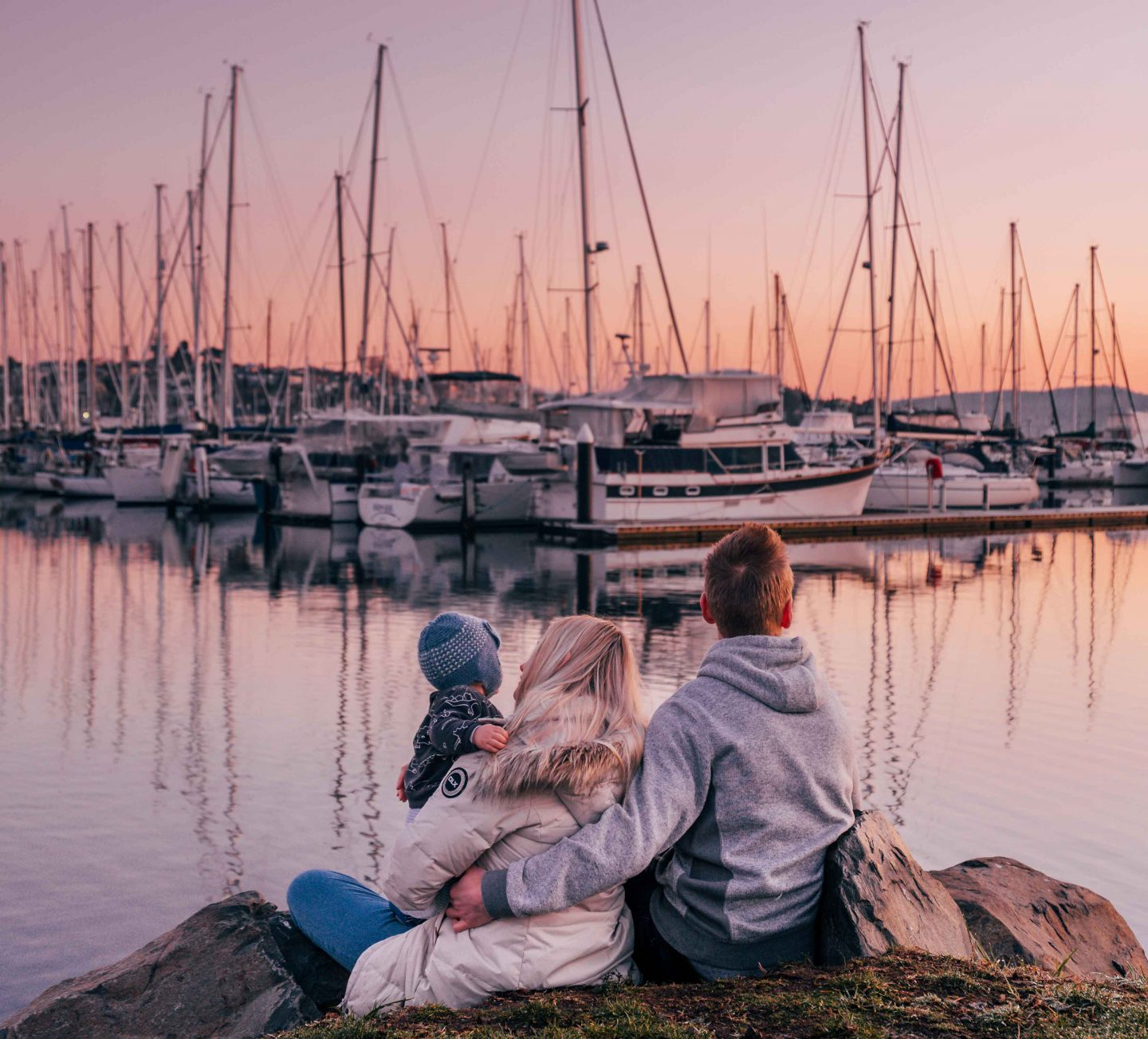 Derwent Sailing Squadron Marina - Instagrammable Spots in Tasmania - Live Life and Roam