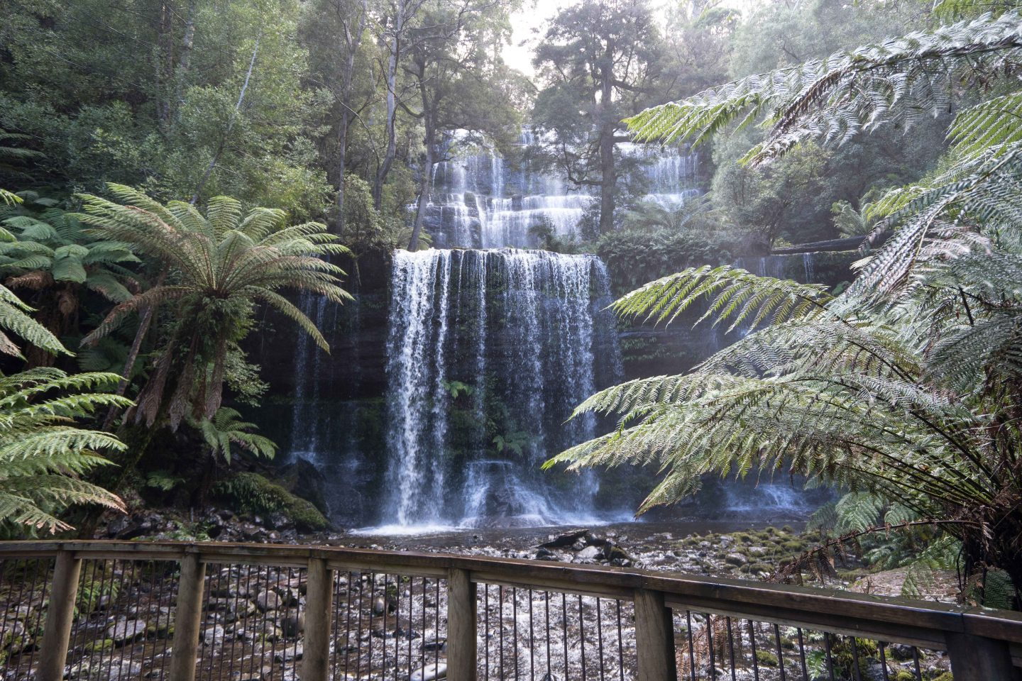 Russell Falls - Instagrammable Spots in Tasmania - Live Life and Roam
