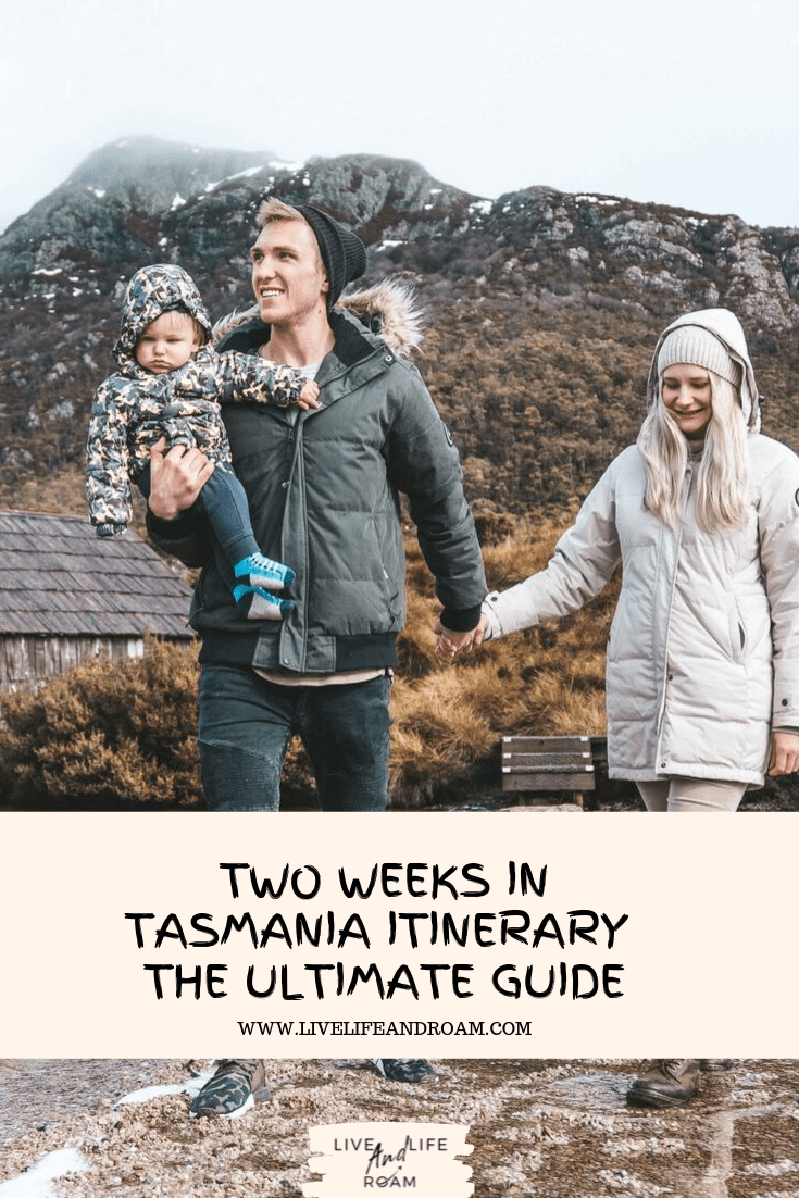 Two weeks in Tasmania Itinerary - The Ultimate Guide Pin