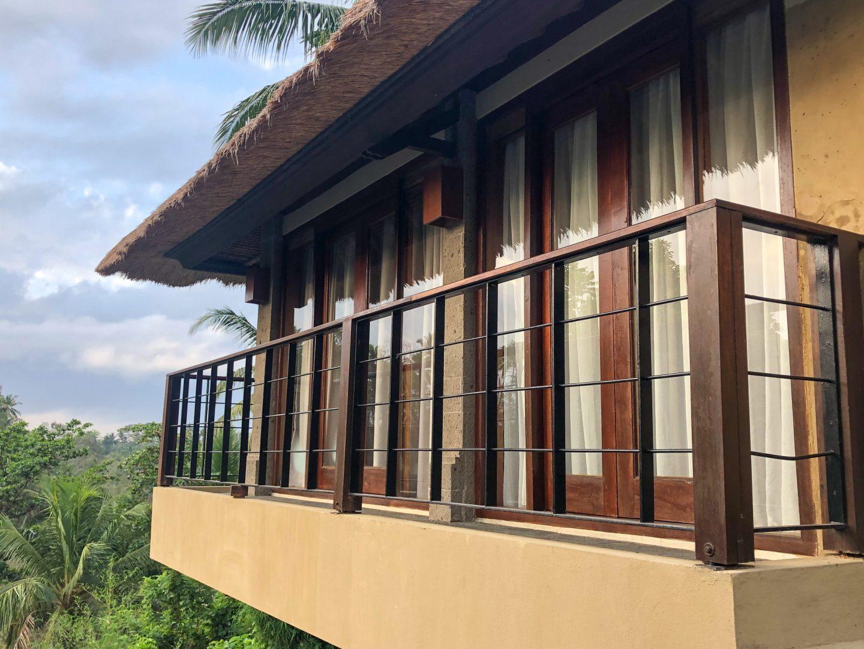 Balcony of One Bedroom Valley Pool Villa - Kamandalu Bali - Live Life and Roam (1 of 1)