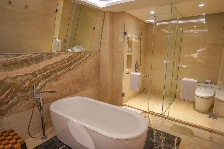 Bathroom - Le Meridien Bali - Live Life and Roam (1 of 1)