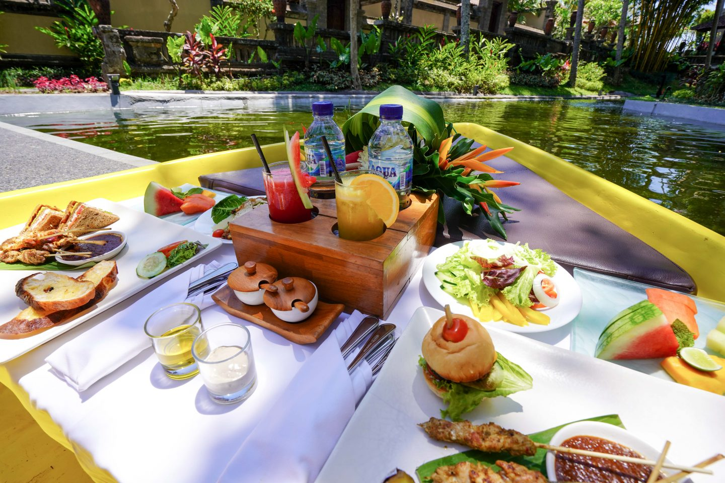 Floating Picnic Lunch on the Boat - Kamandalu Bali - Live Life and Roam (1 of 1)