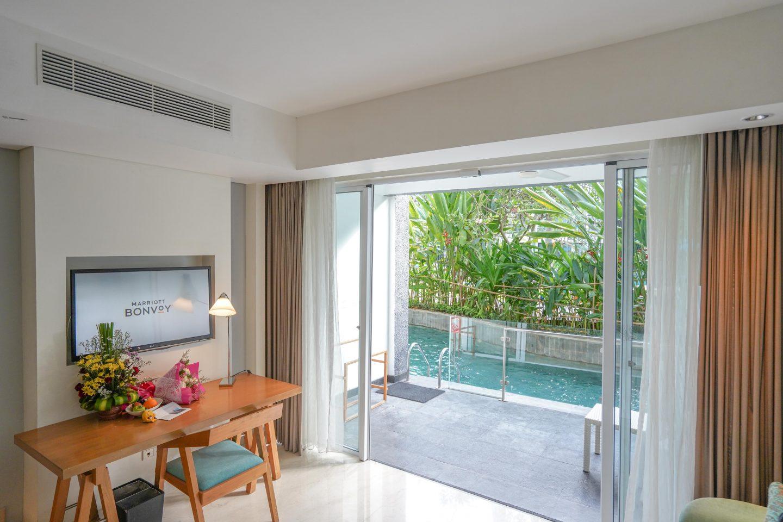 Lagoon Access Room 2 - Le Meridien Bali - Live Life and Roam (1 of 1)