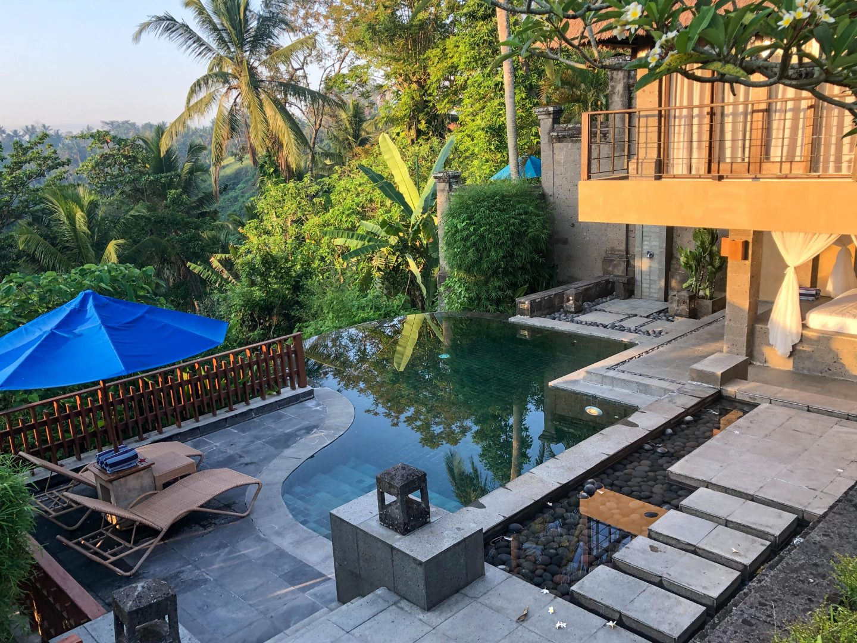 Morning at One Bedroom Valley Pool Villa - Kamandalu Bali - Live Life and Roam (1 of 1)