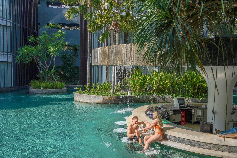 Pool Bar - Le Meridien Bali - Live Life and Roam (1 of 1)