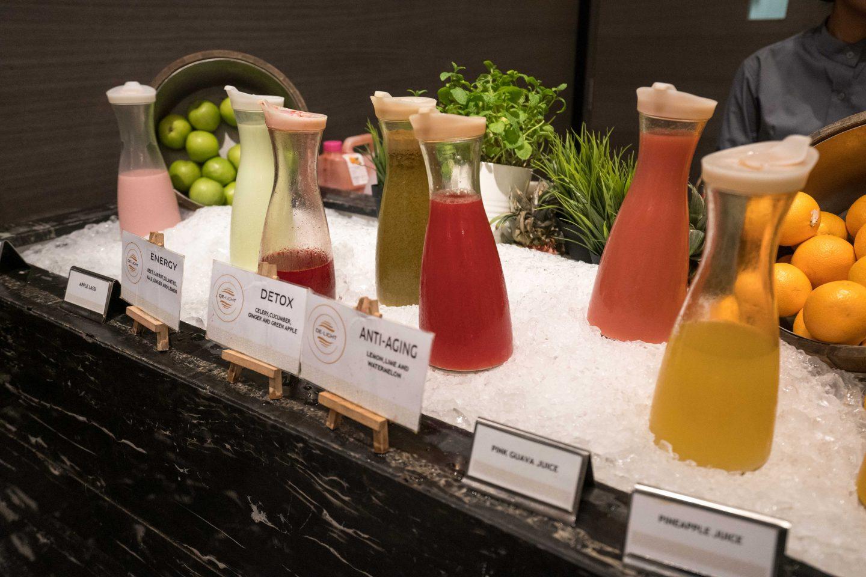 Breakfast juices Sofitel Kuala Lumpur Damansara - Live Life and Roam (1 of 1)