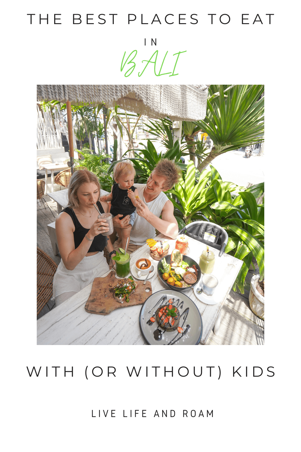 The Best Places to Eat in Bali with or without kids