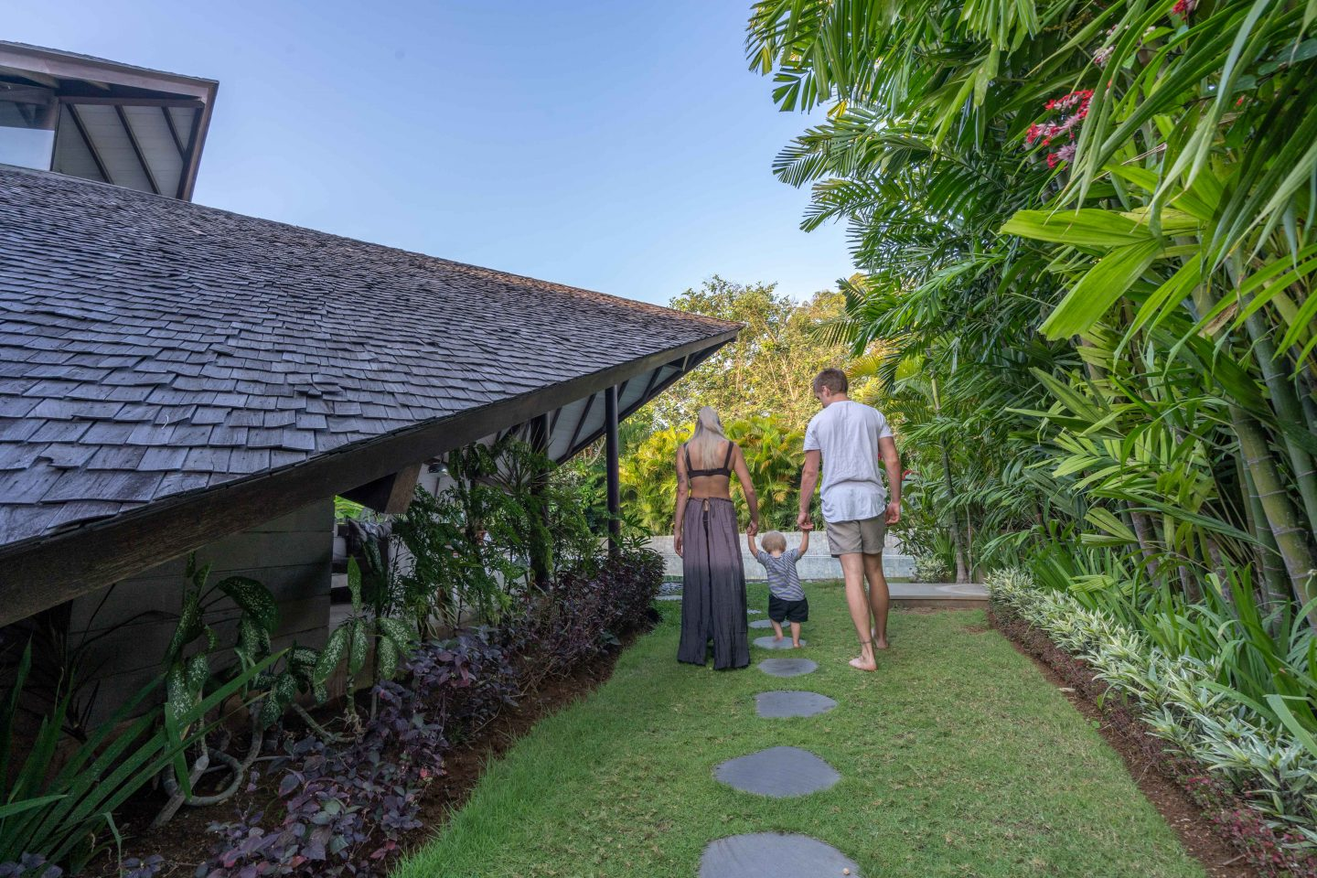 Entrance to our Villa @ The Layar - Live Life and Roam