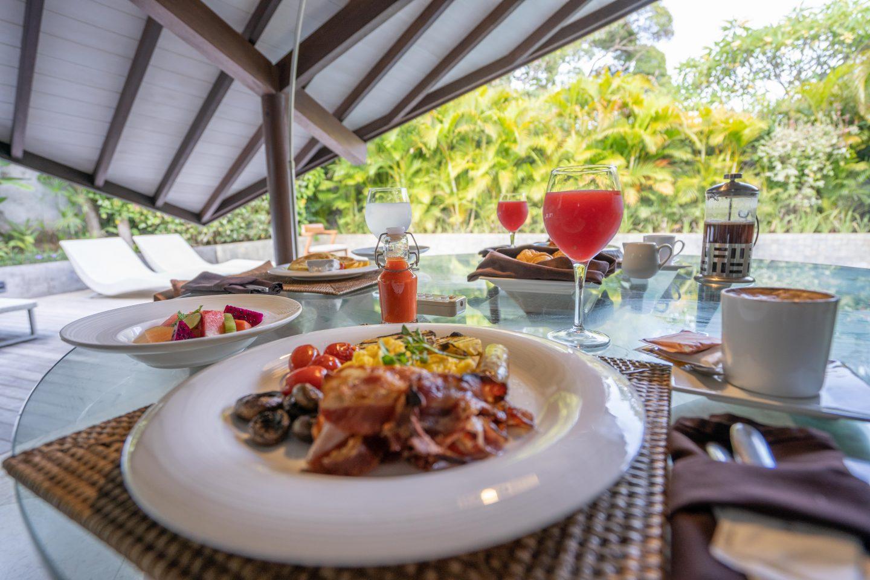 In Villa Breakfast @ The Layar - Live Life and Roam