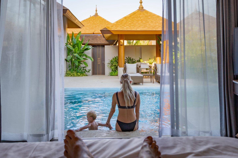 Checking in to Splash Beach Resort Phuket