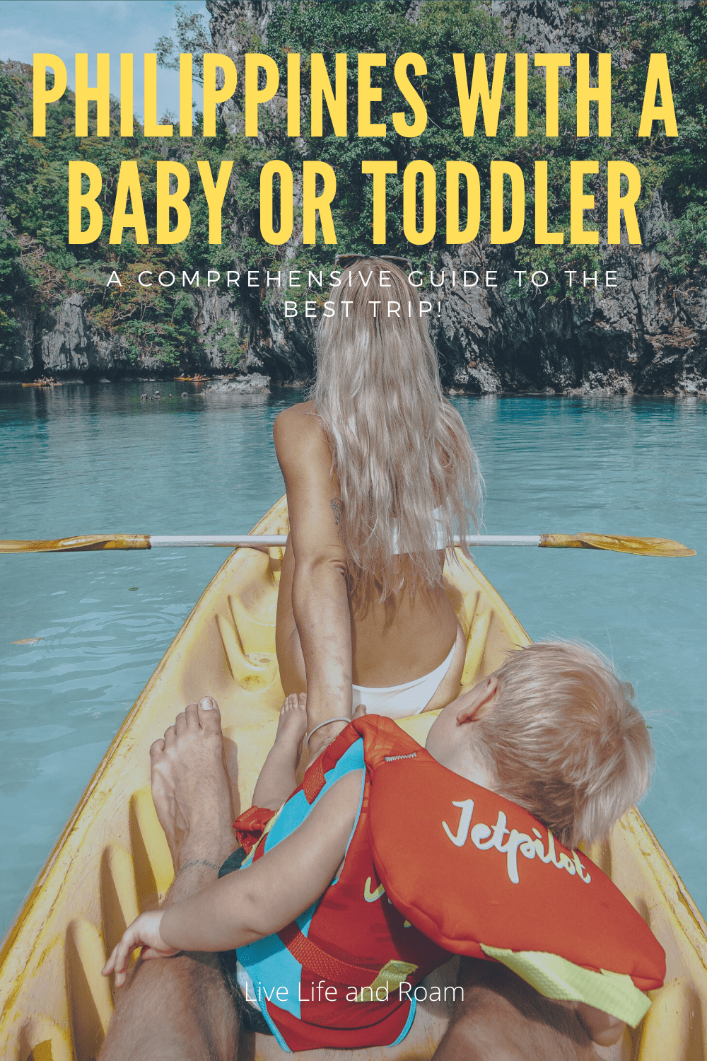 Philippines with a baby or toddler - live life and roam