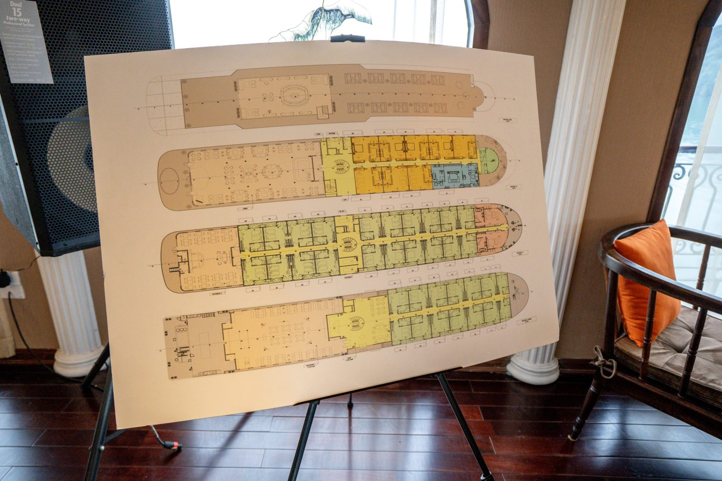 Boat Layout - Indochine Cruise - Live Life and RoamBoat Layout - Indochine Cruise - Live Life and Roam