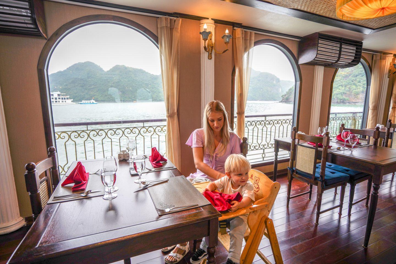 Tonkin Restaurant - Indochine Cruise - Lan Ha Bay - Live Life and Roam