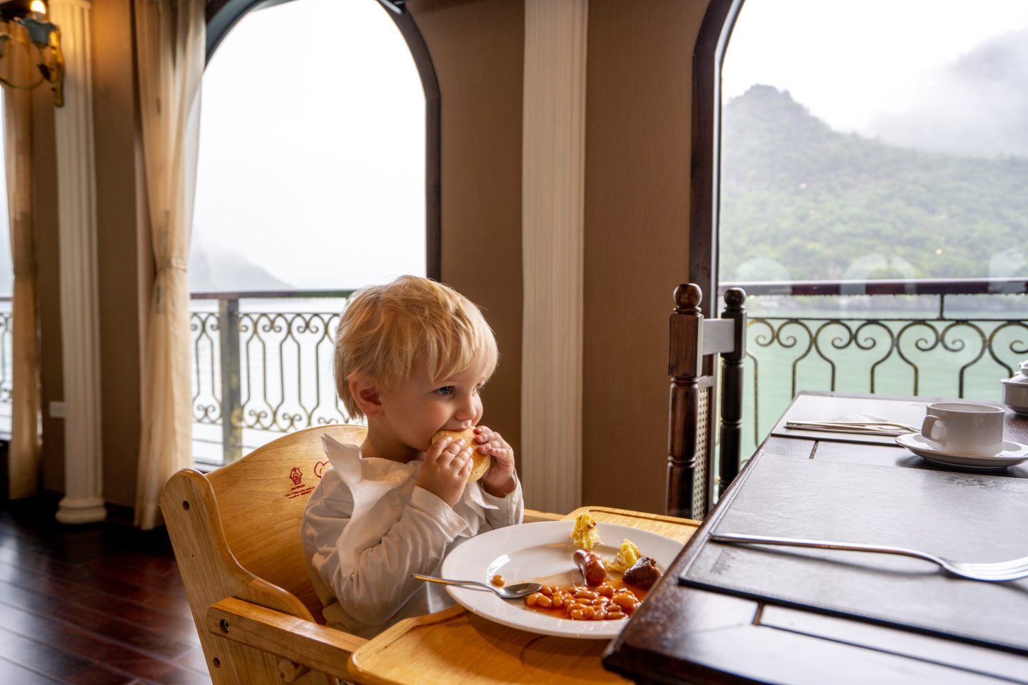 Childs Dining - Indochine Cruise - Lan Ha Bay - Live Life and Roam