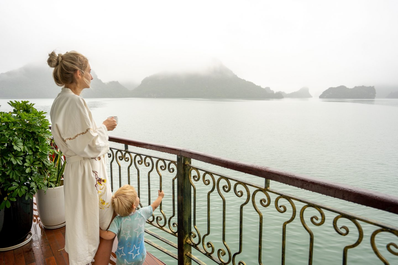 Balcony - Indochine Cruise - Live Life and Roam