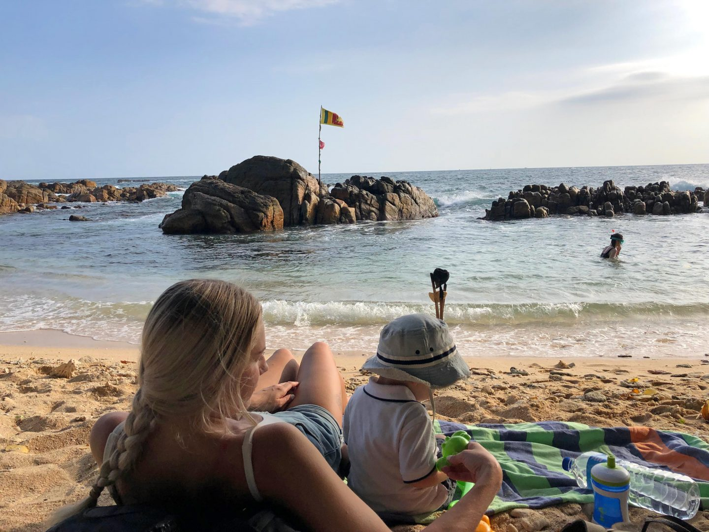 Sun Safety - Sri Lanka with a toddler