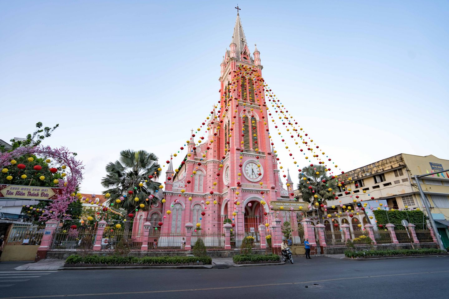 HCMC PINK church- One Month in Vietnam - Live Life and Roam