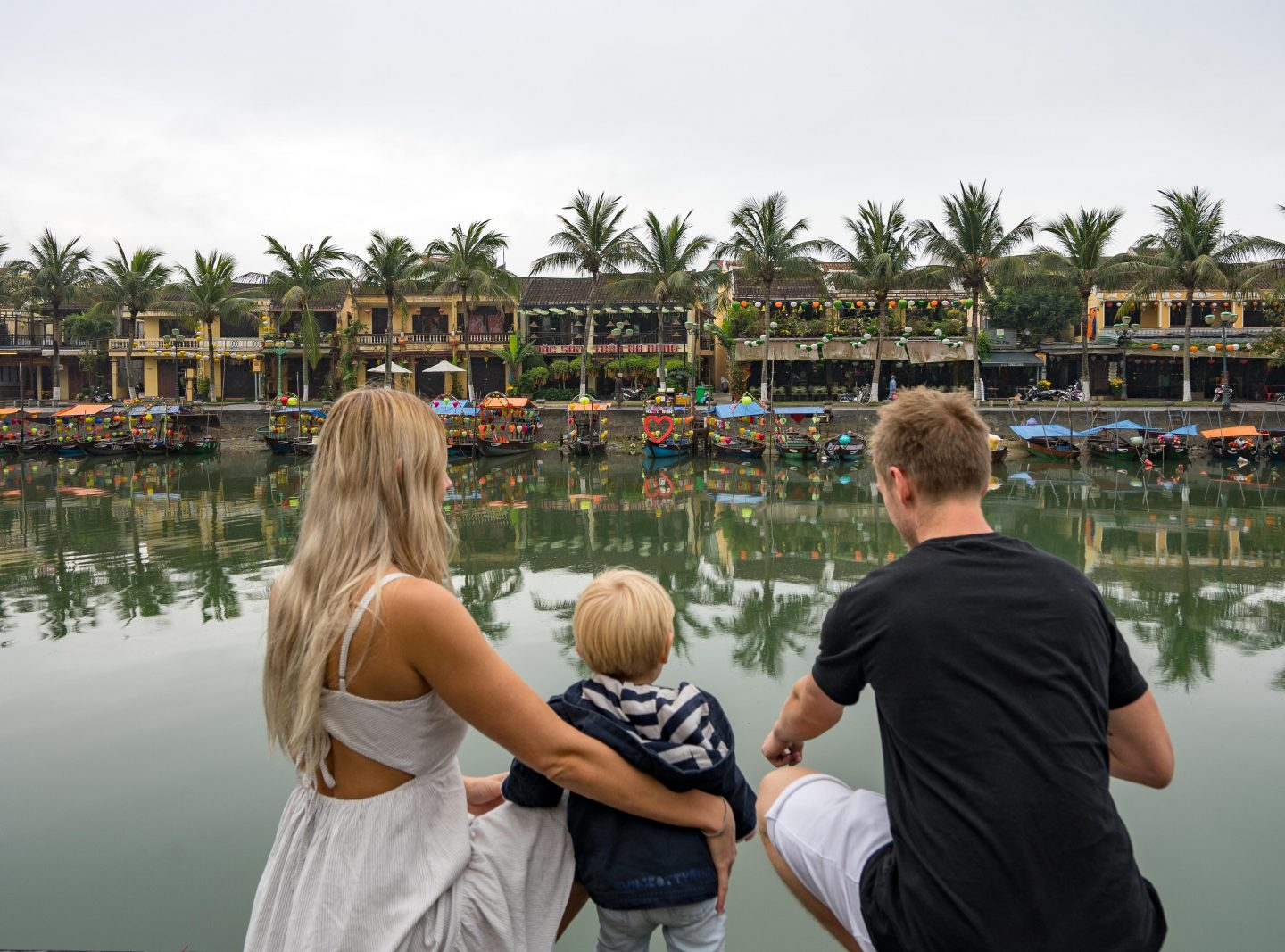 Hoi An River - One Month in Vietnam - Live Life and Roam
