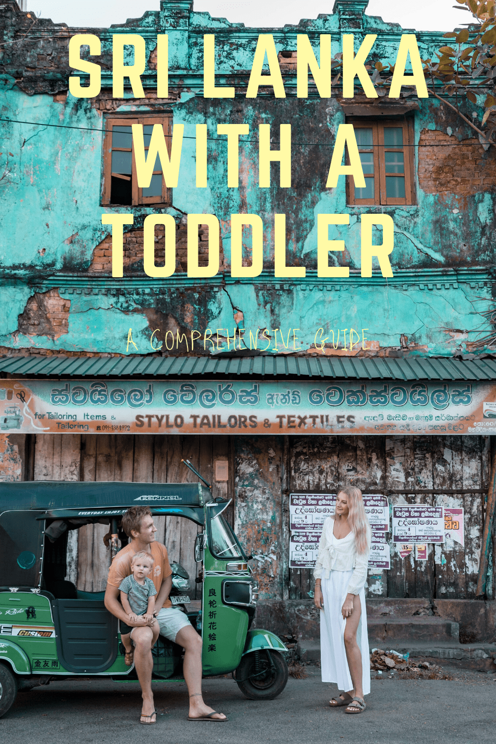 Sri Lanka with a Toddler - A Comprehensive Guide