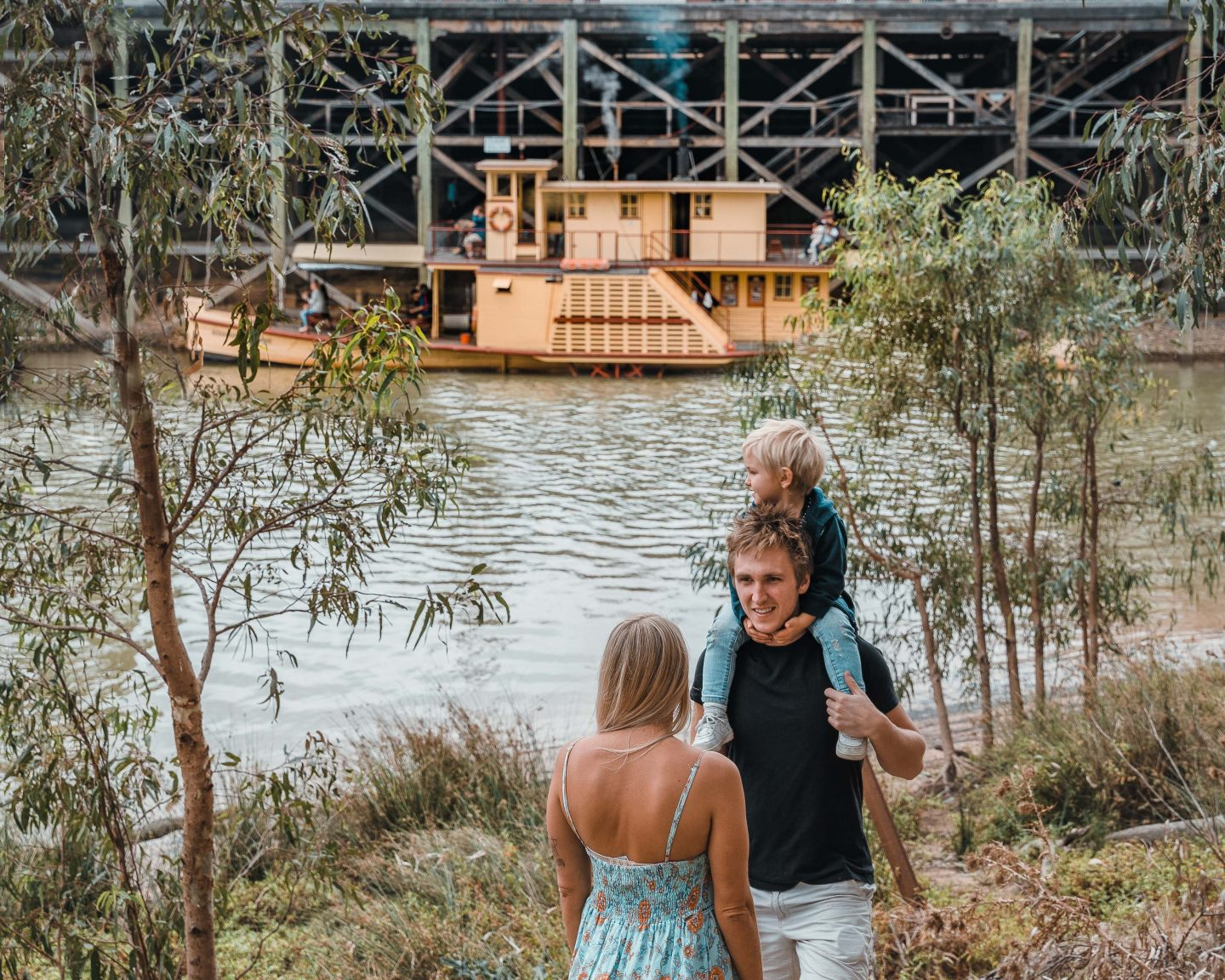 Paddle Steamers 2 - Live Life and Roam - A weekend in Echuca